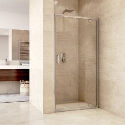Sprchové dveře pivotové, Mistica, 100 cm, chrom ALU, sklo Čiré