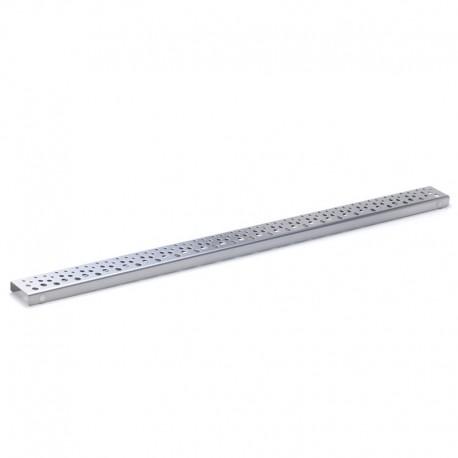 Madlo rovné, bílé, 20 cm