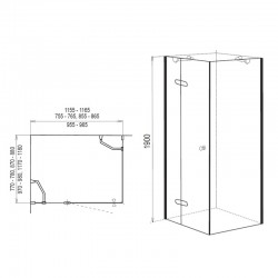 """Umyvadlový sifon bez pilety s maticí 6/4""""x40 mm"""