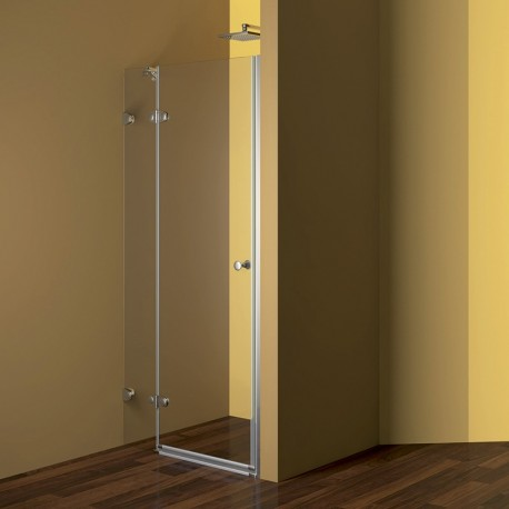 Sprchové dveře, Fantasy, 90x190 cm, chrom ALU, sklo Čiré