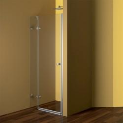 Sprchové dveře, Fantasy, 80 cm, chrom ALU, sklo Čiré, pravé otvírání dveří