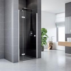 Sprchové dveře, Fantasy, 90 cm, chrom ALU, sklo Čiré, L/P universální provedení