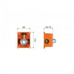 Plastový kryt Esperia Original pro iPhone 6/6S CACTUS