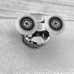 Držák do auta na větrací mřížku HOCO - bílo-šedý